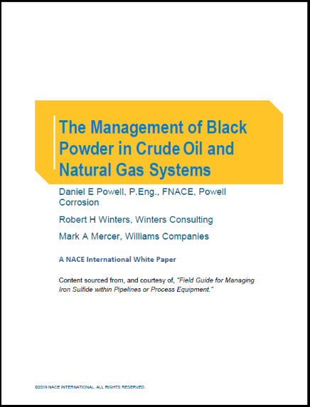 Field Guide for Black Powder White Paper